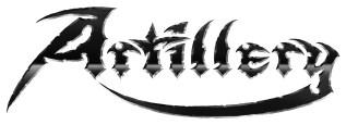 _Artillery logo sort hvid